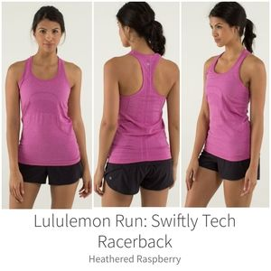 Lululemon Swiftly Tech Racerback Size 4